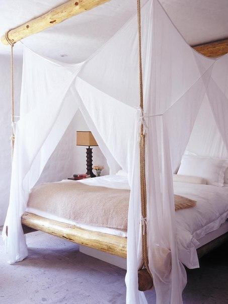 Романтические спальни.